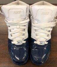 Nike Air Prestige II White W/Blue Tips 335808-113 Mens Size US 11  E08