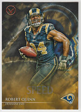ROBERT QUINN 2014 Topps Valor Football Speed Parallel Card #102 Rams