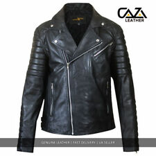 Zip Leather Handmade Coats & Jackets for Men