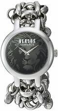 Versus by Versace Women's Agadir SGO210016 Black Dial Stainless Steel Watch