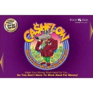 Cashflow 101  Board Game by Robert Kiyosaki - New