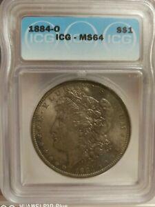 US Morgan Silver 1884 - ICG MS64