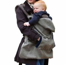Wrap Sling Baby Carrier Windproof Baby Backpack Blanket Carrier Cloak One Size