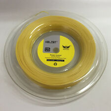 Kelist Power Control Rough 1.25mm 200m Reel Gold Yellow6347 Color Tennis Strings