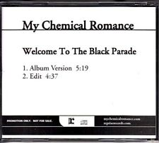My Chemical Romance Welcome.../ Ghost of You / Teenagers RARE promo CDs lot of 3