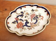 "Mason's Blue Mandalay 8"" Rose Tray Good Condition"