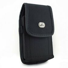 Vertical Heavy Duty Rugged Belt Loops & Clip Case Pouch 5.74 x 2.95 x 0.59 inch