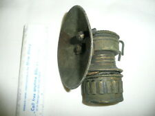Authentic Miners Lantern Vintage Metal Shanklin Guy's Doppler