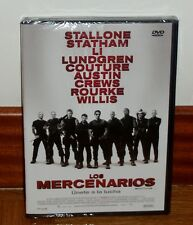 LOS MERCENARIOS-THE EXPENDABLES-DVD-PRECINTADO-ACCIÓN-AVENTURAS-THRILLER