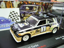 RENAULT 5 Maxi Gr.B Turbo du Var France 1986 Chatriot #1 Rallye IXO Altaya 1:43
