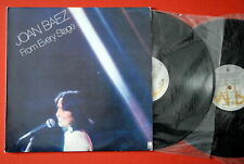 JOAN BAEZ FROM EVERY STAGE UNIQUE LAB EXYUGO 2LP N/MINT