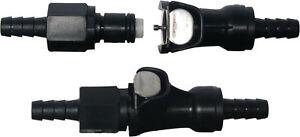 749126 Quick Release Petrol/Fuel Pipe Coupler 6mm (see description)