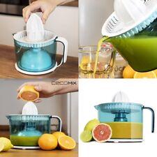 Exprimidor de zumos eléctrico 1 Litro,40W,antigoteo,doble rotación,filtro inox