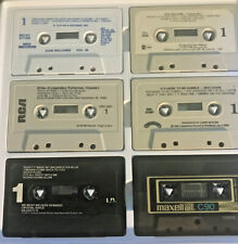Country Western Pop Rock Cassette Tapes Various Artists Lot of 42 Vintage w case