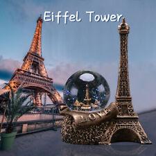 Paris France The Eiffel Tower Water Snow Glass Ball Ornament Souvenirs Gift