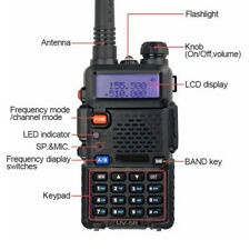 Uv-5R Dual Vhf/Uhf Two Way Ham Radio Transceiver Walkie Talkie Baofeng brand