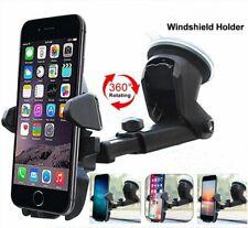 360° In Car Suction Phone Holder Dashboard Windscreen Universal Mount Black