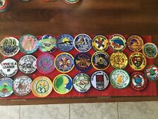 25  - VINTAGE GIRL SCOUT -PATCHES - see photos