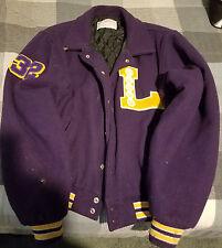 Vintage Los Angeles Lakers Forum Woman's Jacket Size M
