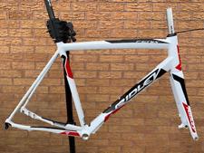 Ridley Fenix A Freno de Disco Bicicleta de Carretera Marco de aleación de Marco Horquilla de Carbono & - Blanco