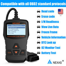 OBD2 Scan Check Engine Light Code Reader Car Automotive Diagnostic Tool NL100