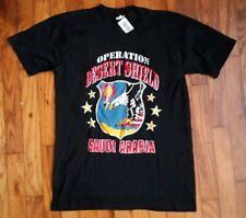 New listing Rare Nwt Vintage Operation Desert Shield Saudi Arabia T-Shirt Deadstock Artex Sm