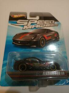 Hot wheels Speed Machines Ferrari 599xx imperfect card