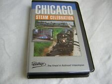 "Pentrex VHS Tape ""CHICAGO STEAM CELEBRATION"" 2 hours, used"