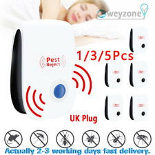 5 pcs 2020 Ultrasonic Pest Repeller Control Electronic Repellent Mice Rat Reject