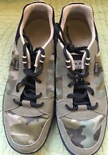 SPERRY TOP-SIDER BOAT WATER SHOES  CAMO TAN/GREEN SON-R TECHNOLOGY 8.5M EUC!