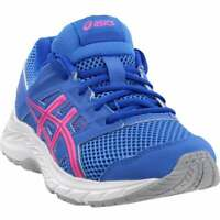 ASICS Gel-Contend 5    Kids Girls Running Sneakers Shoes    - Blue