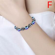 Magnetic Bracelet Bangle Bead Hematite Stone Therapy Health Care WomenJewelry FG