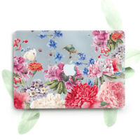 Flowers Retro Floral Art Hard Cover Case For Macbook Pro Retina Air 11 12 13 15