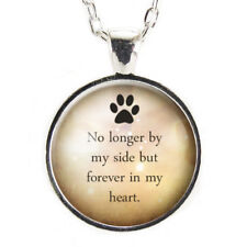 Pet Memorial Necklace Pet Loss Gift Loss Of Pet Remembrance Jewelry