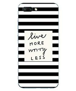 Huawei Honor 10 Flexible Shell And Resistant with Pattern (Stripes Black)