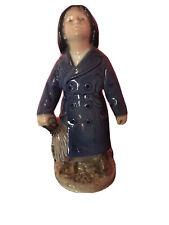 New listing Royal Copenhagen Figurine Boy with Umbrella #3556