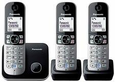 Panasonic KX-TG6811 / 6812/ 6813 Dect Cordless Telephone Silver
