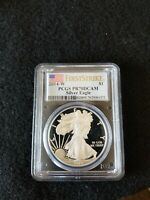 2014-W PROOF AMERICAN SILVER EAGLE - PCGS PR70DCAM (FIRST STRIKE)