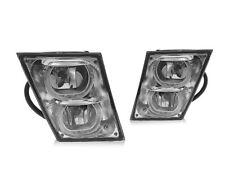 Eagle Eye Fog Light Lamp Chrome With LED Light Bar For 2004-2015 Volvo VN/VNL