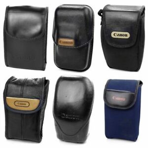 Vintage Canon Soft Black Compact 35mm Film Camera Bag Pouch