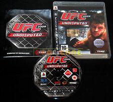 UFC 2009 UNDISPUTED Ps3 Versione Ufficiale Italiana 1ª Edizione ••••• COMPLETO