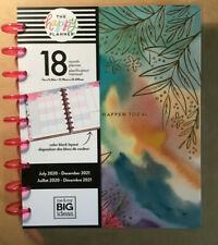 "NEW! 2020-2021 me & my BIG Ideas The Happy Planner ""BOLD WATERCOLOR"" Classic"