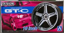 Aoshima 054611 Volk Racing GT-C 19 inch rims + tyres JDM 1:24 # 70