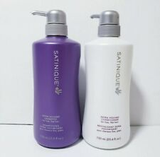 Amway Satinique Extra Volume Shampoo & Conditioner Set (25.6 oz each)