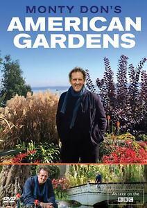 Monty Don's American Gardens Dons New DVD