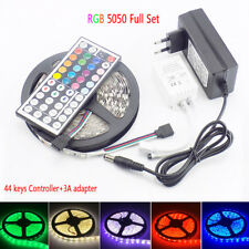 5M RGB LED Strip Lights Waterproof 300 leds 5050 SMD 12V  IR Controller LEDStrip