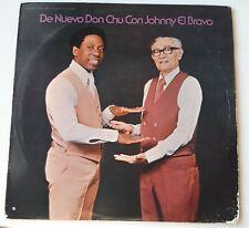 De Nuevo Don Chu Con Johnny El Bravo INTERNATIONAL VG+ LP #3926