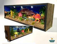 Dinosaur Diorama Night Light   Miniature   Hobby   LED   Bedside   Childrens