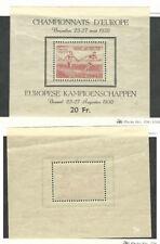 Belgium, Postage Stamp, #B482a Mint NH, 1949 Sports