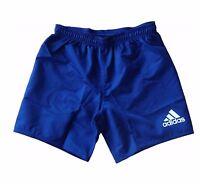 adidas Kinder Jungen Fußball Hose Short Rugby Blau NEU